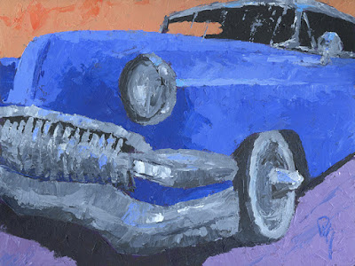 painting automotive art custom car Chevy
