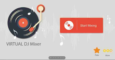 Aplikasi DJ PC virtual dj mixer