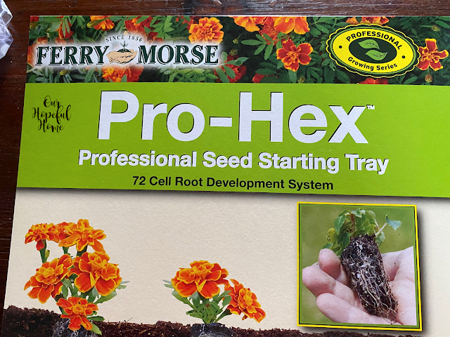 Pro-hex professional seed starting tray