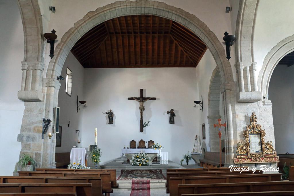 Iglesia de Santiago y San Ginés, Miranda del Castañar