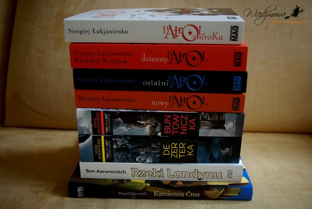 Book haul z niespodzianką | Wiedźmowa głowologia