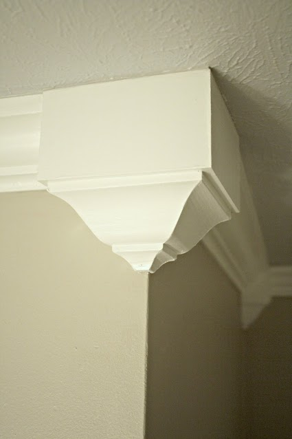 decorative corners for easy crown molding