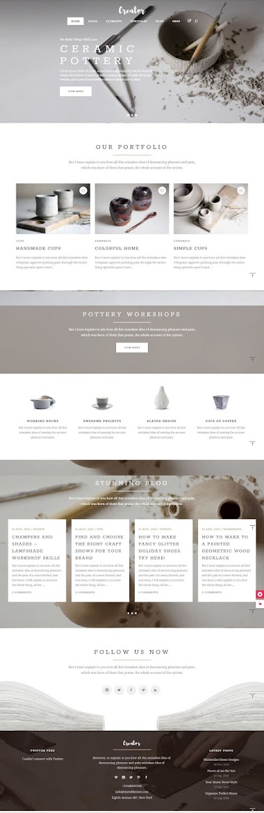 Handmade Art ECommerce Website Design By AJ Agency