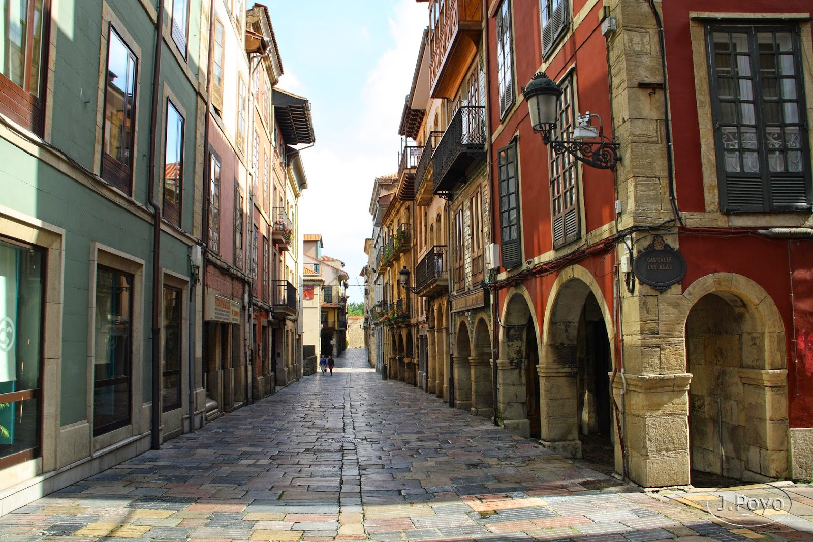 Calle Ferrerría de Avilés