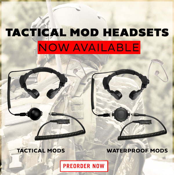 Order Tactical Headsets at Code Red Headsets