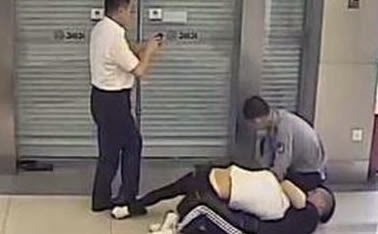 Thief found his victim in the bank when he went to use their cards