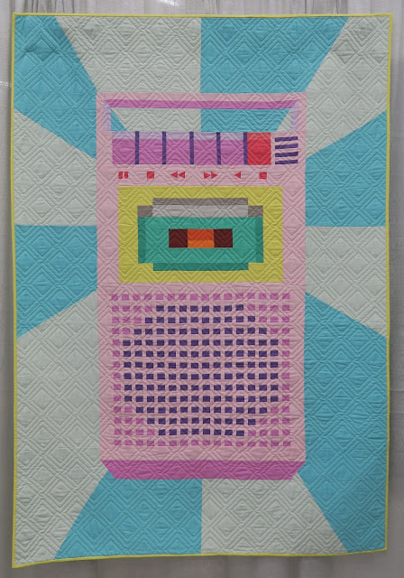 Quiltcon 2020 - We Got the Beat by Lysa Flower - quilted by Parm Gosselin
