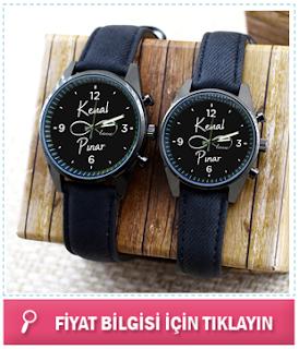 kişiye özel kol saatleri
