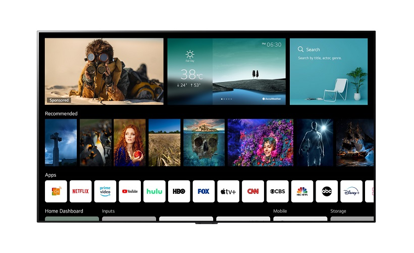 LG beefs up WEBOS to version 6.0: A SMART TV platform designed for today's Content Consuming Viewers