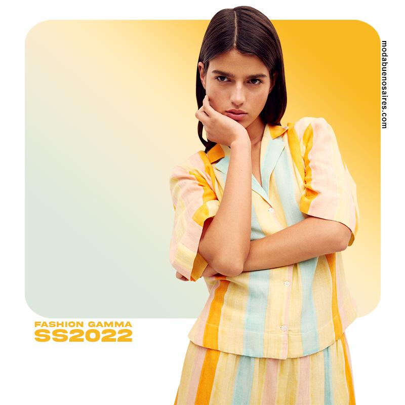 moda verano 2022 moda colores amarillos 2022