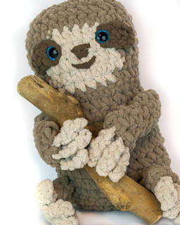 Free Sloth Amigurumi crochet patterns