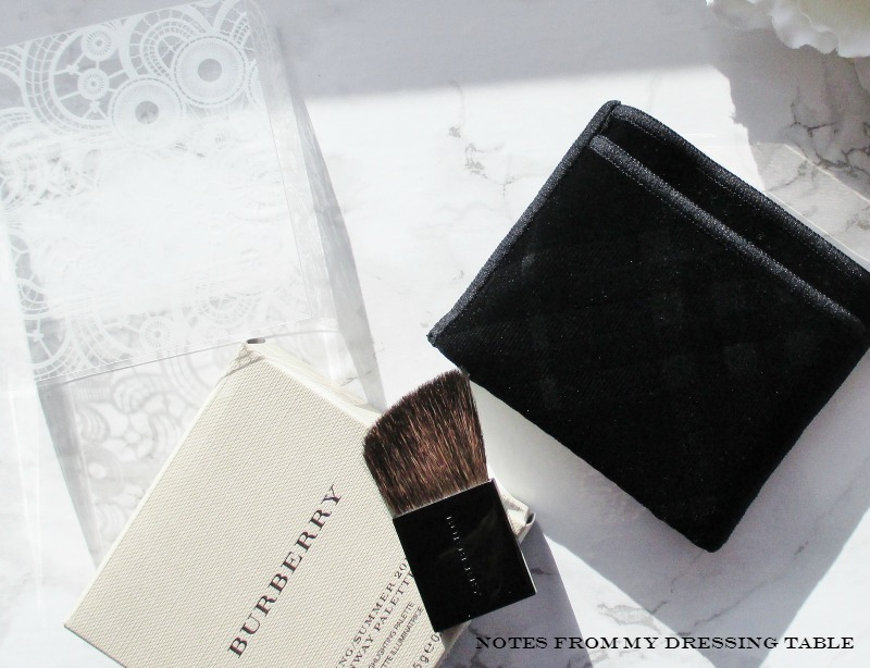 Burberry Spring/Summer 2016 Runway Palette Packaging