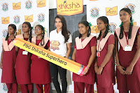 Actress Priya Anand in T Shirt with Students of Shiksha Movement Events 56.jpg