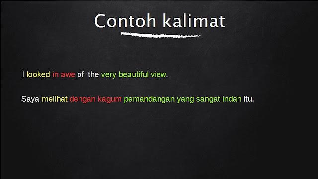 Arti Awesome Dalam Bahasa Indonesia Dan Contoh Kalimatnya