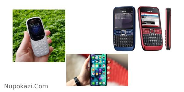 Jenis-Jenis Handphone