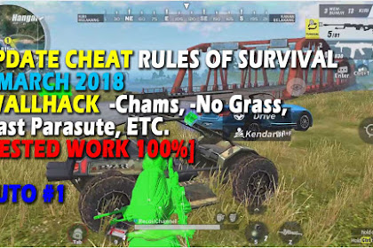 Cheat Rules of Survival Update 7 maret 2018 LEUSIN 2.0!