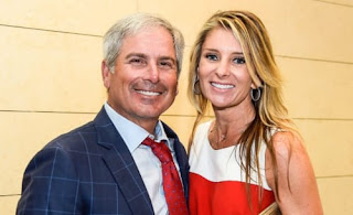 Fred Couples And His Girlfriend Suzanne Hannemann