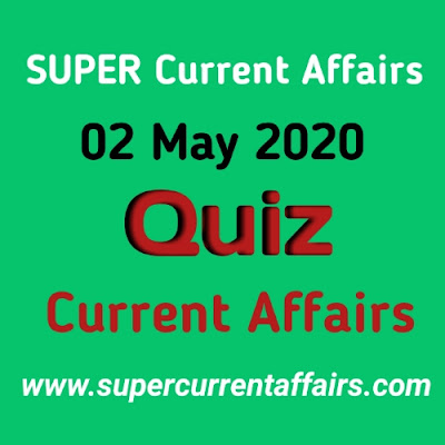 Current Affairs Quiz in Hindi 2 May 2020