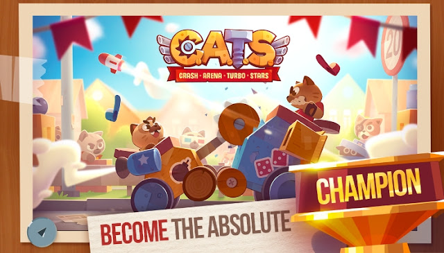Download CATS Crash Arena Turbo Stars Mod Apk Terbaru
