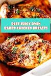 #Juicy #Oven #Baked #Chicken #Breasts