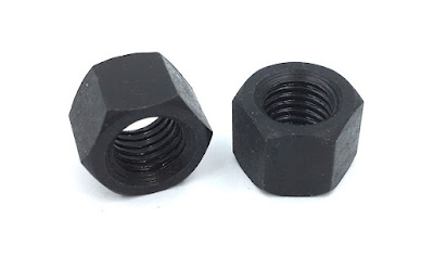 Custom Grade 5 Hex Nuts - SAE J995 Steel