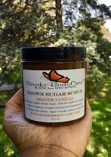 Brown Sugar Scrub Orange Vanilla