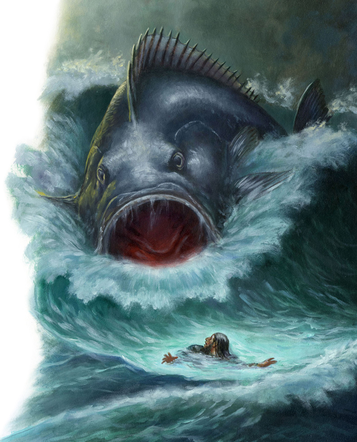 The story of Jonah is found in the Bible as the book of Jonah.