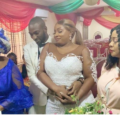 Newly Wedded Nollywood Actress Anita Joseph Says Words Of Prayers To her Husband (photos)
