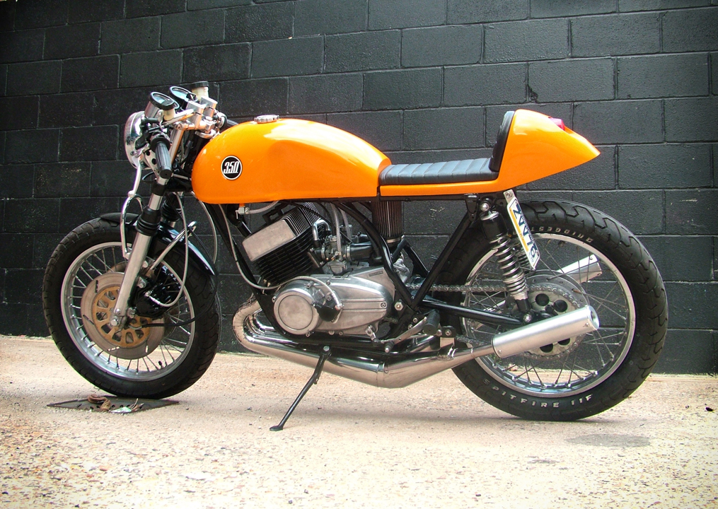 readers rides: yamaha rd350 cafe racer ~ return of the cafe racers