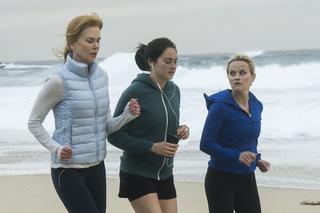 "Nicole Kidman, Shailene Woodley, and Reese Witherspoon in ""Big Little Lies"""
