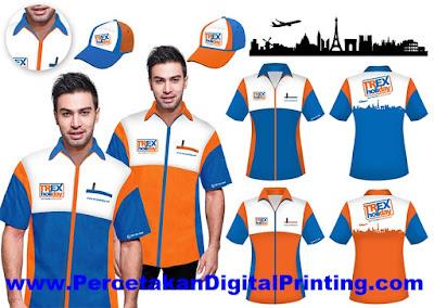 Contoh Desain SERAGAM Dari Percetakan Digital Printing Terdekat
