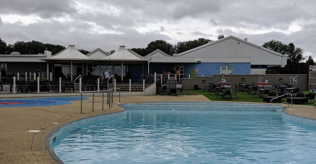 Haven Berwick Upon Tweed Review - swimming pool