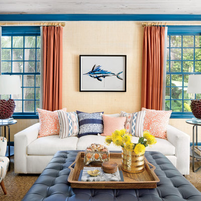 The Glam Pad: Kemble Interiors Revives a 1940s Palm Beach ...