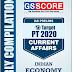 GS Score Target PT 2020 Indian Economy Current Affairs pdf Notes