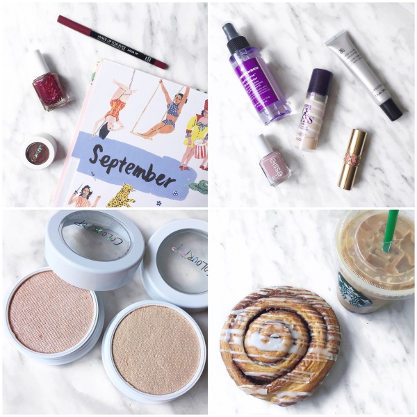 bbloggers, bbloggersca, canadian beauty bloggers, colourpop, lunch money, smoke n whistles, smokin whistles, panera cinnamon roll, starbucks psl, arbonne, essie, instamonth