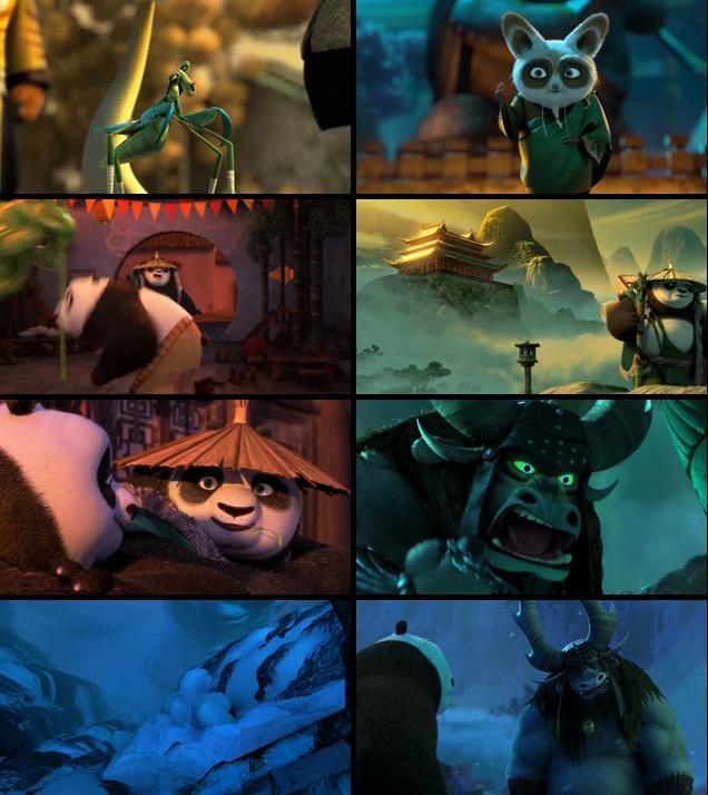 Download Kung Fu Panda 3 2016 English 720p WEBRip 600MB