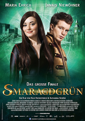 emerald green, smaragdgrun, movie adaptation, kerstin gier, time travel, fantasy, magic, romance