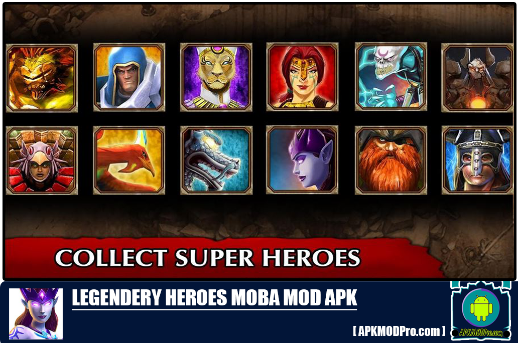 Download  legendary heroes mod apk