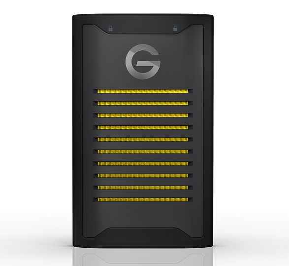Western Digital G-Technology™ ArmorLock™ encrypted NVMe™ SSD