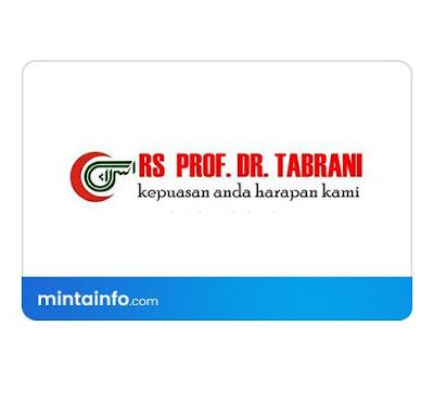Lowongan Kerja Rumah Sakit Prof. Dr. Tabrani Terbaru Hari Ini, info loker pekanbaru 2021, loker 2021 pekanbaru, loker riau 2021