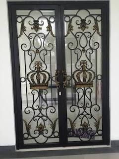 pintu besi tempa, pintu head besi tempa, pintu double besi tempa (4)