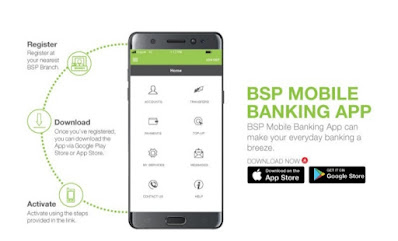 Bsp BSP mobile banking png