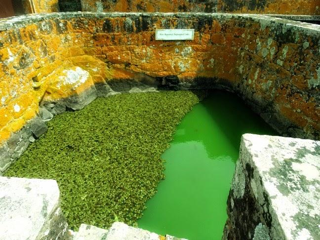Poço com sete Metros de Profundidade, no Fuerte de San Miguel, Chuy