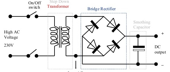 diagram of welding transformer