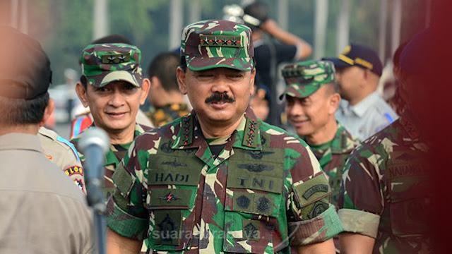 Rusuh Papua, Panglima TNI Copot Pangdam Cenderawasih