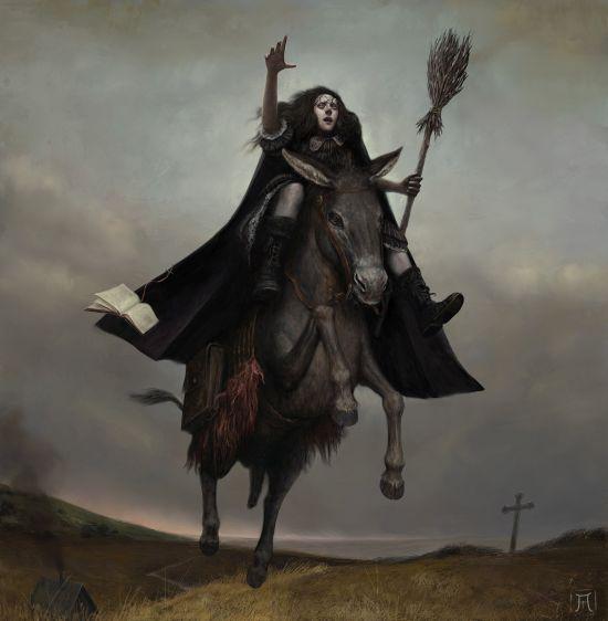 Igor Krstic artstation arte ilustrações pinturas tradicionais fantasia terror sombrio medieval