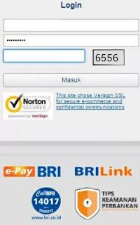 CEK SALDO BRI MENGGUNAKAN INTERNET BANKING BRI