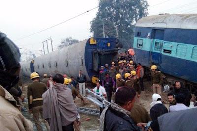 Εκτροχιασμός τρένου με νεκρούς
