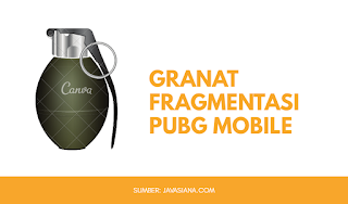 Granat Fragmentasi PUBG