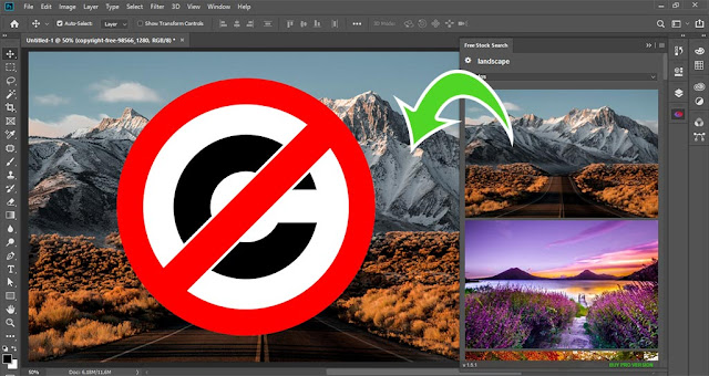 Free Stock Search Extension for Creative Cloud Apps